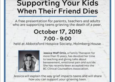 Supporting your kids through grief