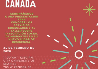 Encounter with latino students in Canada
